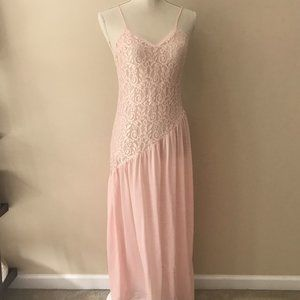 Vintage Undercover Wear Long Lace Nightgown